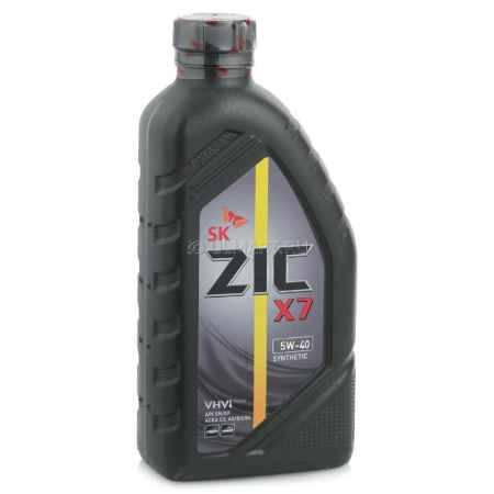 Купить Моторное масло ZIC X7 5W-40 1л синтетическое