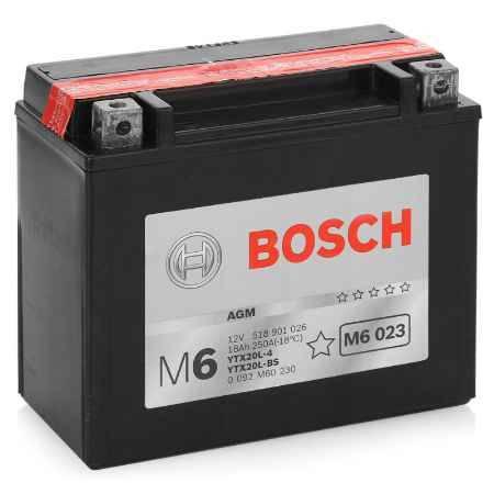 Купить Аккумулятор BOSCH 12V 518 901 026 (M6 023) AGM -18Ач