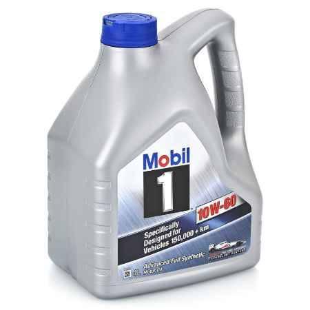 Купить Моторное масло Mobil 1 10W/60, 4 л, синтетическое