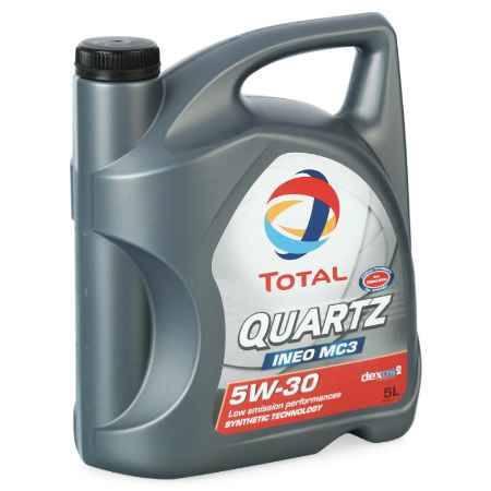 Купить Моторное масло Total Quartz Ineo MC3  5W/30, 5 л, синтетическое
