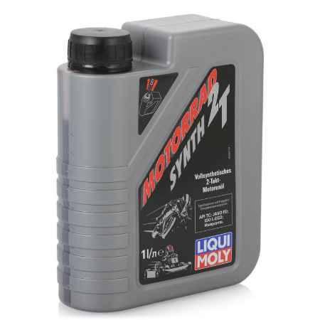 Купить Моторное мото масло LIQUI MOLY Motorrad Synth 2T  TC, 1 л, синтетическое (3980)