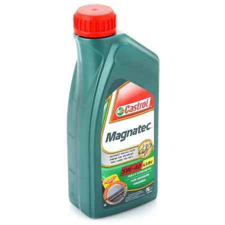 Купить Моторное масло Castrol Magnatec 5W/40 A3/B4, 1 л, синтетическое