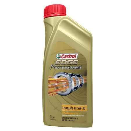 Купить Моторное масло Castrol EDGE Professional Titanium FST LLife III Audi 5W/30, 1 л, синтетическое