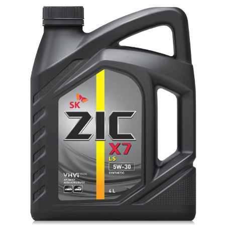 Купить Моторное масло ZIC X7 LS 5W30 4л синтетическое