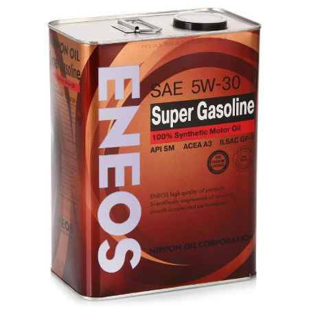 Купить Моторное масло ENEOS Super Gasoline, 5W30 SM, 4 л, синтетическое