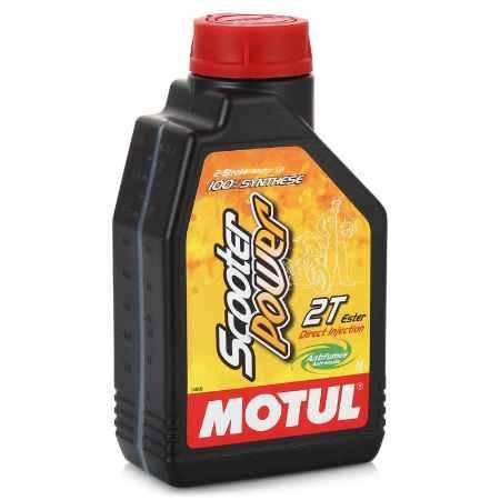 Купить Моторное мото масло MOTUL Scooter Power 2T, 1 л