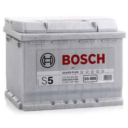 Купить Аккумулятор BOSCH S5 Silver Plus 563 400 061