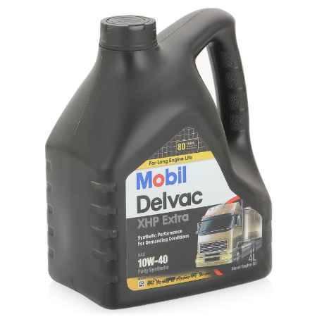 Купить Моторное дизельное масло Mobil Delvac XHP Extra 10W-40, 4 л