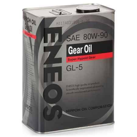 Купить Трансмиссионное масло ENEOS 80W90 GEAR GL-5, 4 л