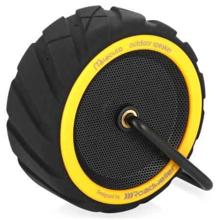 Купить Портативная Bluetooth акустика Molecula BPS-101, black/yellow