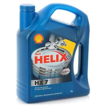 Купить Моторное масло Shell Helix HX7 5W/30, 4л, полусинтетическое