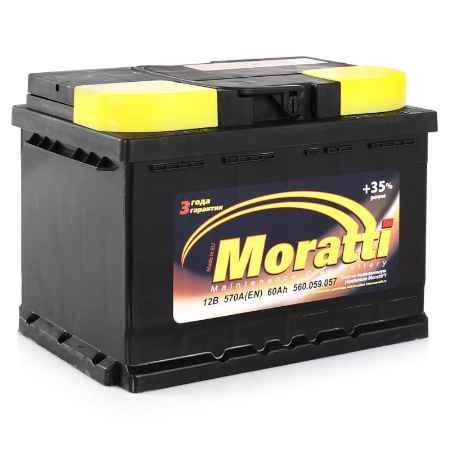 Купить Аккумулятор Moratti 60а/ч о.п.