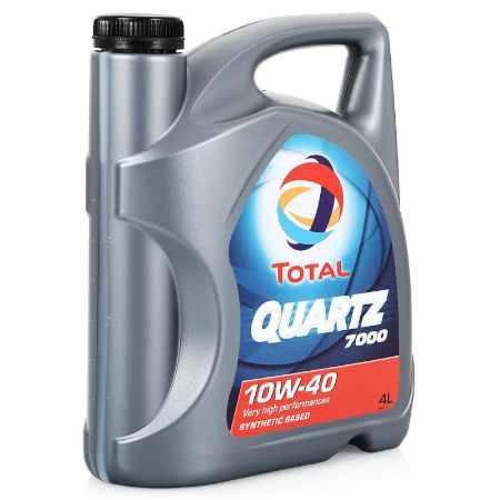 Купить Моторное масло Total Quartz 7000 10W/40, 4 л, полусинтетическое