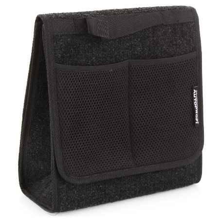 Купить Органайзер в багажник Autoprofi Travel ковролиновый, 28х13х30см, чёрный