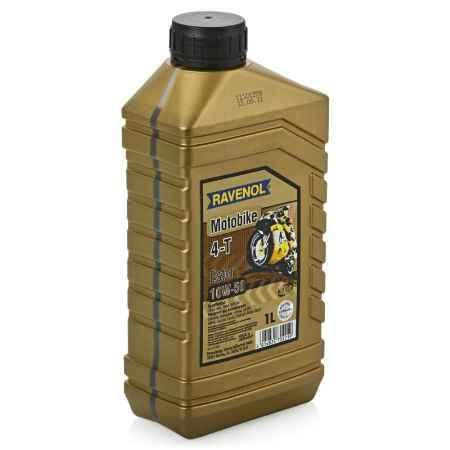 Купить Моторное мото масло RAVENOL Motobike 4-T Ester 10W/50, 1 л, синтетическое
