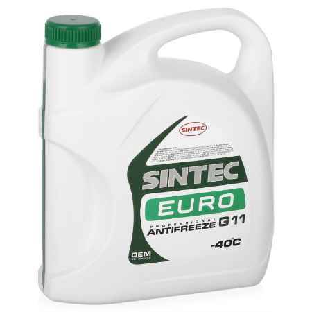 Купить Антифриз Sintec Euro G11 зеленый, 5 кг