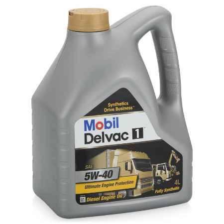 Купить Моторное дизельное масло Mobil Delvac 1 5W-40, 4 л