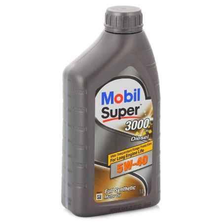 Купить Моторное масло Mobil SUPER 3000 X1 DIESEL 5W/40, 1 л, синтетическое