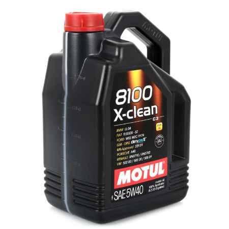 Купить Моторное масло MOTUL 8100 X-Clean 5W/40 C3, 5 л, синтетическое