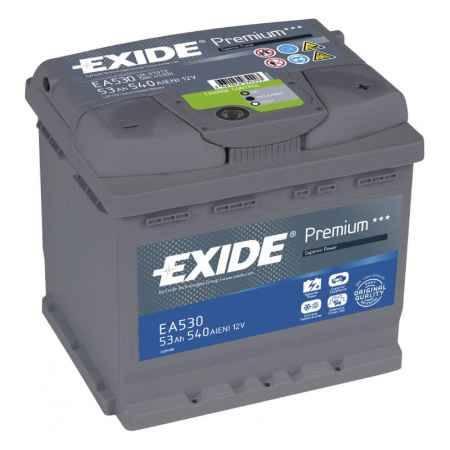 Купить Аккумулятор EXIDE Premium EA530 12V 53Ah 540A R+