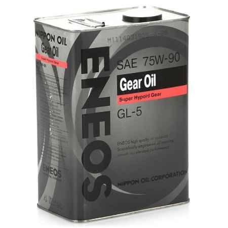 Купить Трансмиссионное масло ENEOS 75W90 GEAR GL-5, 4 л