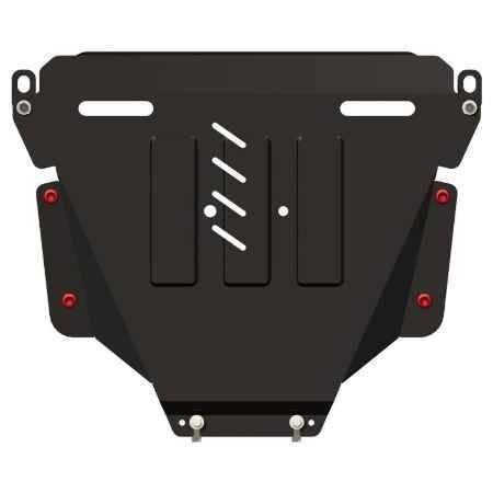 Купить Комплект защиты картера и КПП SHERIFF HONDA CR-V III (RE5), 2,0; 2,4; 2,2D, 2007 - 2012, 09.1082