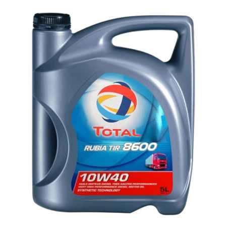 Купить Моторное дизельное масло Total Rubia TIR 8600 10w40, 5л
