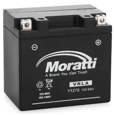 Купить Аккумулятор Moratti VRLA (AGM)12V (YTZ7S) - 6Ач