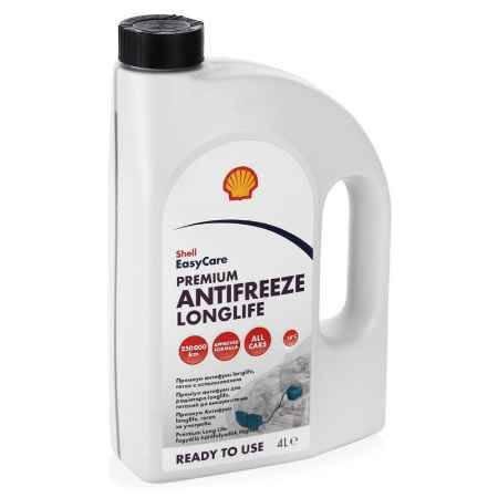 Купить Антифриз Shell Premium Antifreeze Longlife Ready to use  красный,  4 л, готовый