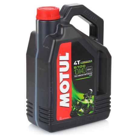 Купить Моторное мото масло MOTUL 5100, 4T 10W-40, 4 л