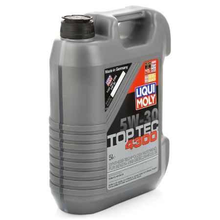 Купить Моторное масло LIQUI MOLY Top Tec 4300 5W-30 SM/CF;A1/B1,A5/B5,C2, 5 л, НС-синтетическое (8031)