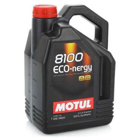 Купить Моторное масло MOTUL 8100 Eco-nergy 0W30, 5 л, синтетическое