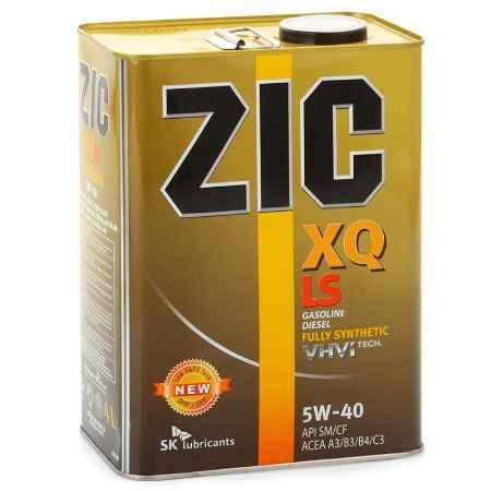 Купить Моторное масло ZIC XQ LS 5W/40 SM/CF, 4 л, синтетическое