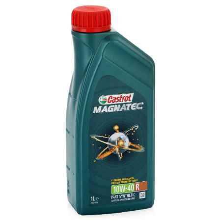Купить Моторное масло Castrol Magnatec 10W/40 R A3/B4, 1 л, полусинтетическое