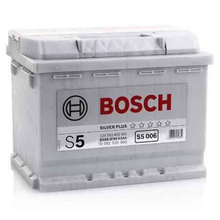 Купить Аккумулятор BOSCH S5 Silver Plus 563 401 061