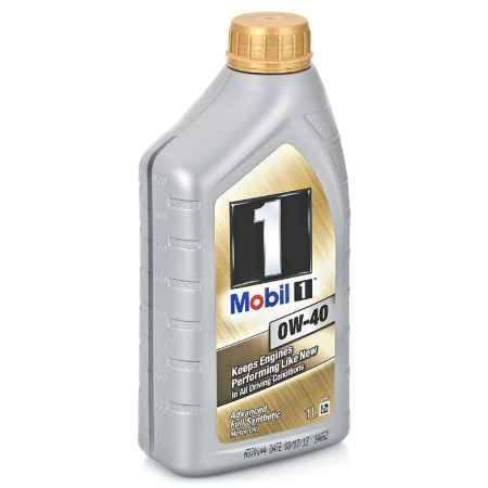 Купить Моторное масло Mobil 1 0W/40, 1 л, синтетическое