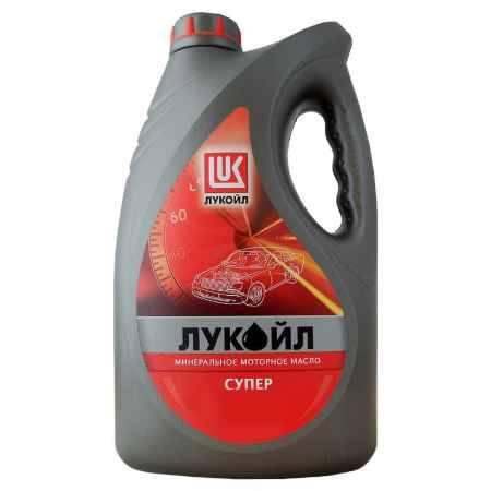 Купить Моторное масло Лукойл Супер 15W/40 SG/CD, 4 л, минеральное