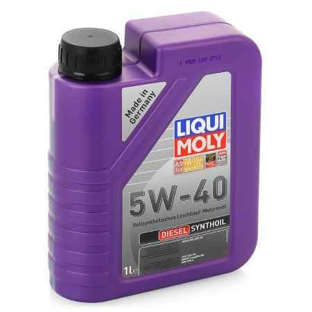 Купить Моторное масло LIQUI MOLY Diesel Synthoil 5W/40 CF B4, 1 л, синтетическое (1926)