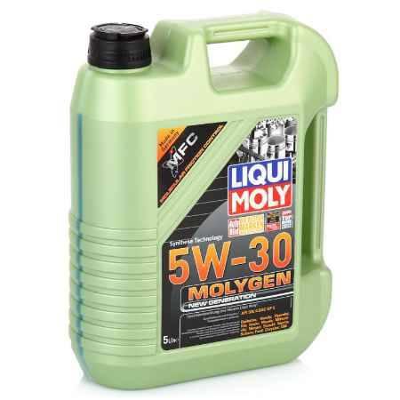 Купить Моторное масло LIQUI MOLY Molygen New Generation 5W/30 SN;ILSAC GF-5, 5 л, НС-синтетическое (9043)