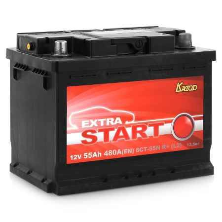Купить Аккумулятор Extra Start 6СТ-55N R+ (L2)