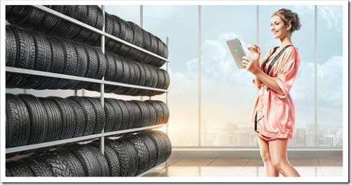 Хранение шин в межсезонье