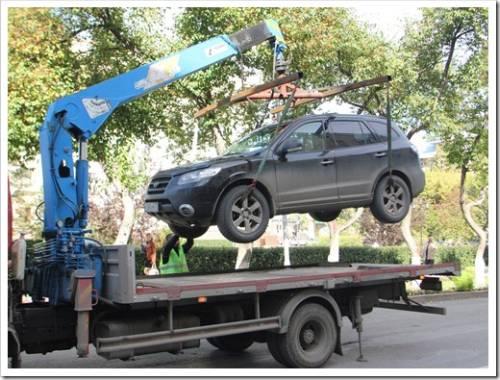 Вызов эвакуатора: доставка авто на СТО
