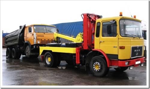 Какие сложности могут возникнуть с эвакуацией грузового транспорта?