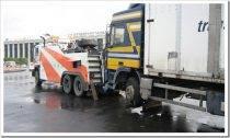 Как осуществляется эвакуация грузового автомобиля?