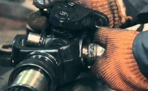 ремонт карданного вала мерседеса