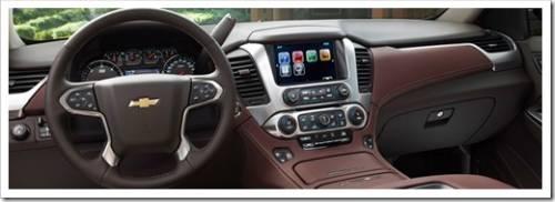 Интерьер  Chevrolet Tahoe 2016