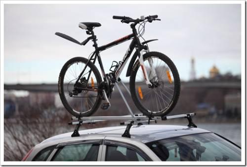 Велосипед не вмещается в багажник