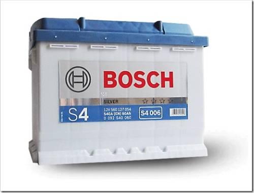 Авто аккумуляторы Bosch 60 А/ч