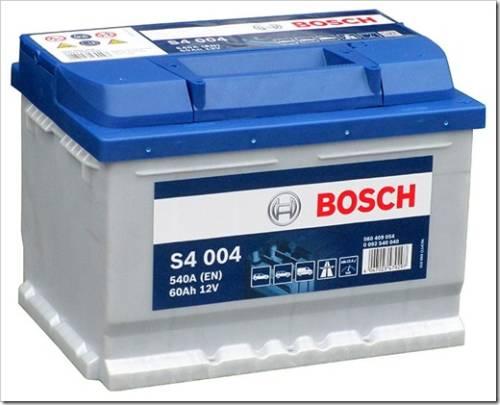 Аккумуляторы Bosch 60 А/ч