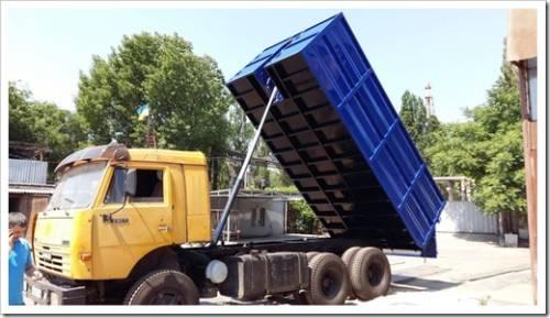 Технические характеристики кузова КамАЗ 5320